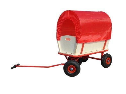 Bollerwagen Handwagen Wagen mit Plane Luftreifen