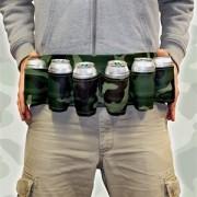 Dosen- und Getränkehalter Gürtel in Tarnfarben