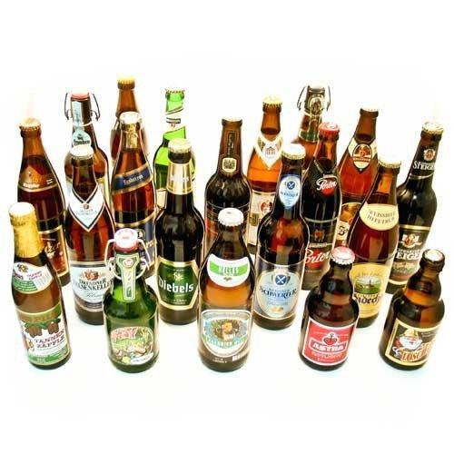 Eine Auswahl deutscher Bierspazialitäten