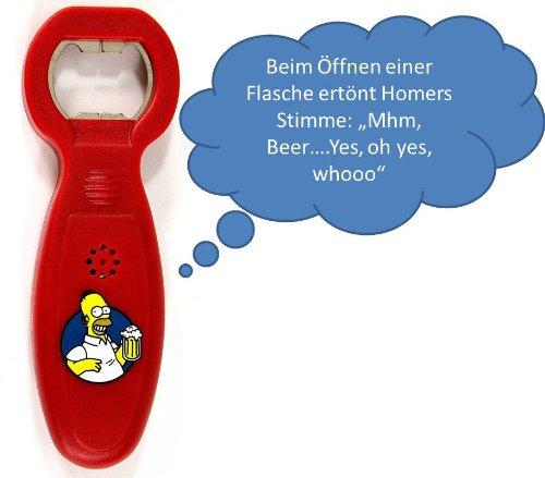 Sprechender Flaschenöffner Bart Simpson
